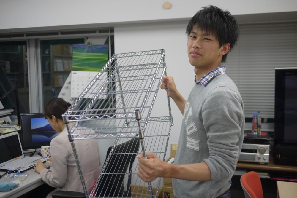到着!待望の棚!(5/15)