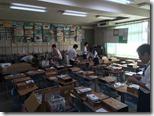 附属小学校へのタブレット導入作業(8/20-22)